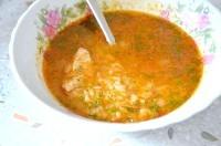 Як приготувати курячий суп харчо - рецепт