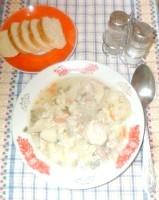 Як приготувати курячий суп з цвітною капустою - рецепт