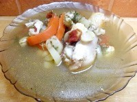 Як приготувати курячий суп з грибами - рецепт