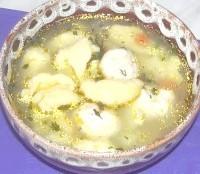 Як приготувати курячий суп з галушками - рецепт