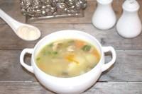 Як приготувати курячий суп з вівсянкою і грибами - рецепт
