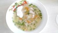 Як приготувати курячий суп в скороварці - рецепт