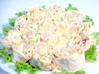 Як приготувати лаваш з ковбасою та сиром - рецепт