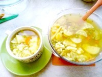 Як приготувати легкий овочевий супчик - рецепт