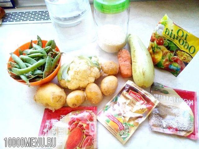 Фото - Легкий овочевий супчик - фото 1 кроку