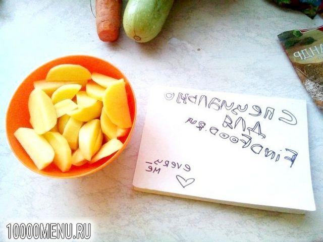 Фото - Легкий овочевий супчик - фото 2 кроки
