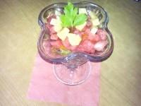 Як приготувати літній салат з кавуном - рецепт