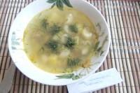 Як приготувати макаронний суп з курячими сердечками - рецепт