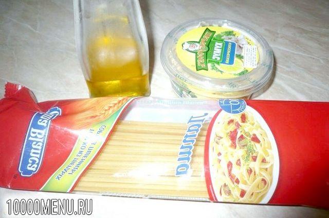 Фото - Макарони з хумусом - фото 1 кроку