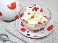 Як приготувати молочне морозиво з крохмалем - рецепт