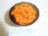 Як приготувати морква по-корейськи з часником - рецепт