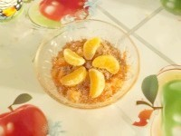 Як приготувати морквяний десерт з мандарином і шоколадом - рецепт