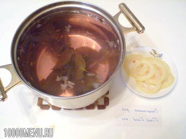 Фото - Напій з фіолетового базиліка - фото 5 кроку