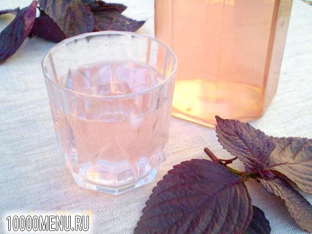 Фото - Напій з фіолетового базиліка - фото 7 кроку