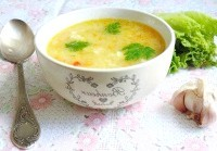 Як приготувати німецький суп з галушками - рецепт