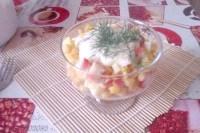 Як приготувати ніжний крабовий салат? рецепт