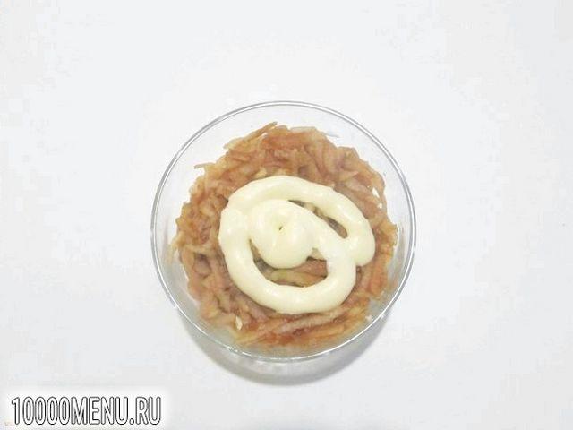 Фото - Ніжний салат з яєць - фото 6 кроку