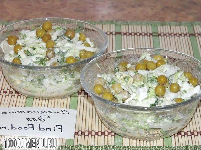 Фото - Ніжний салат з пекінської капусти - фото 6 кроку