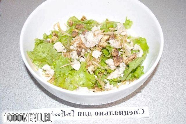 Фото - Ніжний салат Модерн - фото 4 кроки