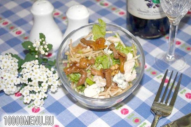 Фото - Ніжний салат Модерн - фото 5 кроку