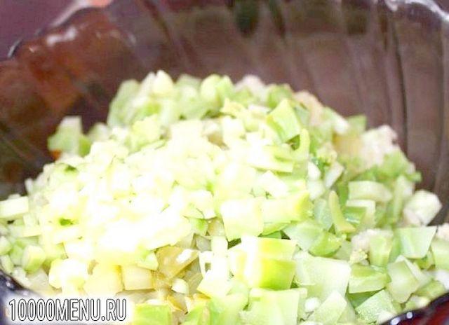 Фото - Новорічний салат - фото 5 кроку