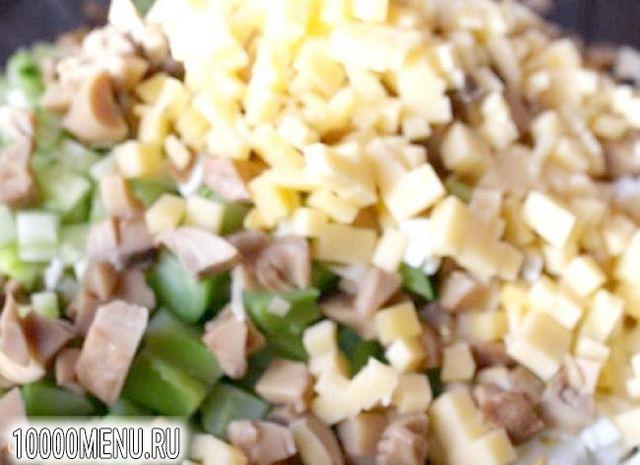 Фото - Новорічний салат - фото 6 кроку