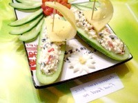 Як приготувати огіркові човники - рецепт