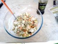 Як приготувати олів'є для вегетаріанців - рецепт