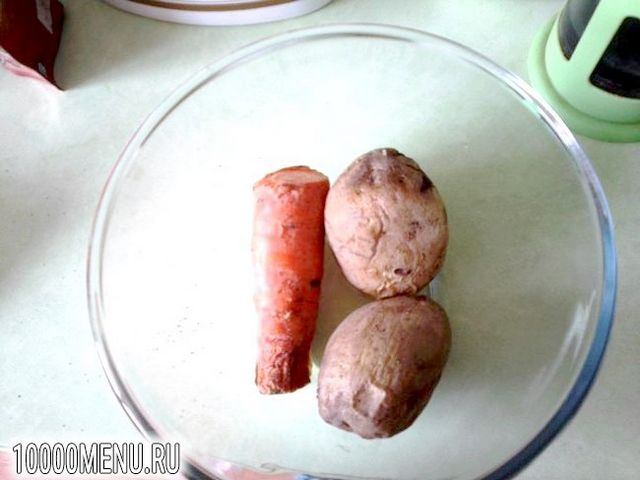 Фото - Олів'є для вегетаріанців - фото 2 кроки