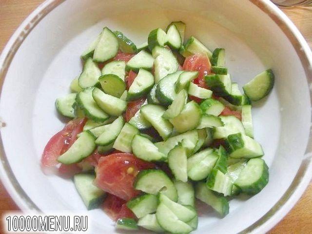 Фото - Оригінальна заправка овочевого салату - фото 2 кроки