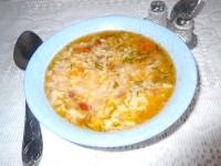 Як приготувати гострий рисовий суп із квасолею - рецепт