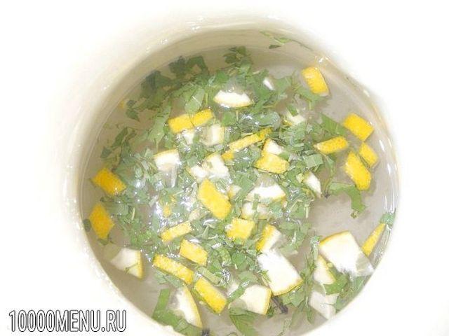 Фото - Освіжаючий напій з естрагону і лимона - фото 4 кроки