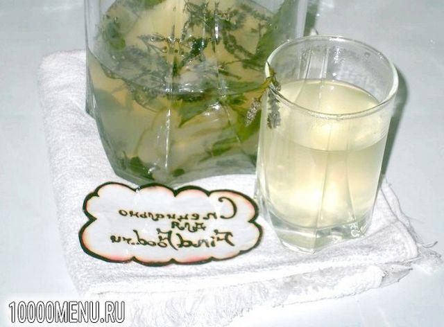 Фото - Освіжаючий напій з м'ятою і лаймом - фото 4 кроки