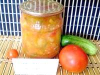 Як приготувати овочевий салат на зиму - рецепт