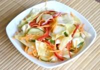 Як приготувати овочевий салат по-корейськи - рецепт