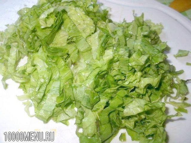 Фото - Овочевий салат з хріном - фото 1 кроку