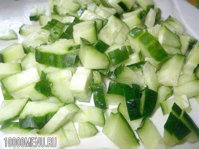 Фото - Овочевий салат з хріном - фото 2 кроки