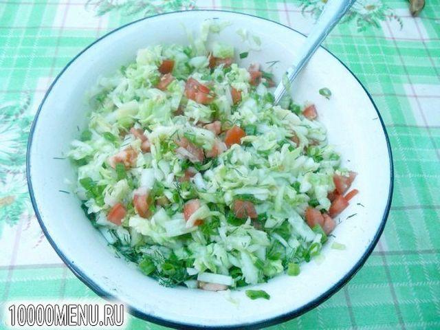 Фото - Овочевий салат з червоною смородиною - фото 7 кроку