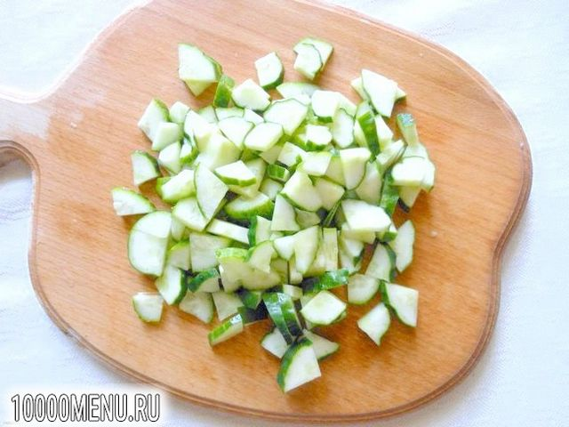 Фото - Овочевий салат з кунжутом - фото 2 кроки