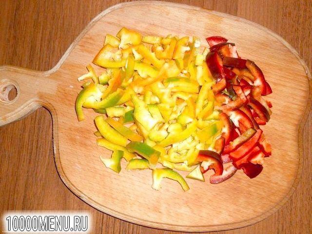 Фото - Овочевий салат з кунжутом - фото 3 кроки
