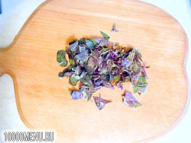 Фото - Овочевий салат з кунжутом - фото 5 кроку