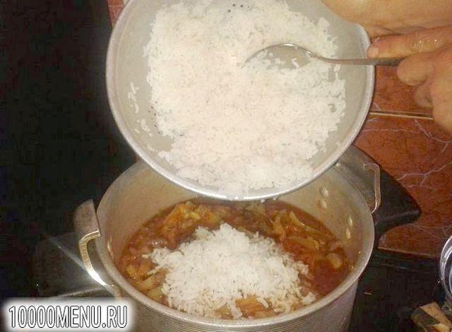 Фото - Овочевий салат з рисом на зиму - фото 9 кроку