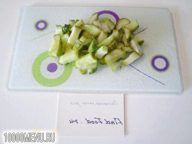 Фото - Овочевий салат з теплим картоплею - фото 8 кроку