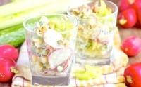 Як приготувати овочевий салат весняний - рецепт