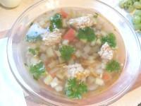Як приготувати овочевий суп з фрикадельками - рецепт