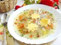 Як приготувати овочевий суп з яєчним суфле - рецепт