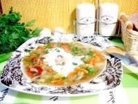 Як приготувати овочевий суп з молодою капустою - рецепт