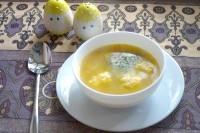 Як приготувати овочевий суп з сирними галушками - рецепт