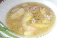 Як приготувати овочевий суп зі свининою в горщиках? рецепт