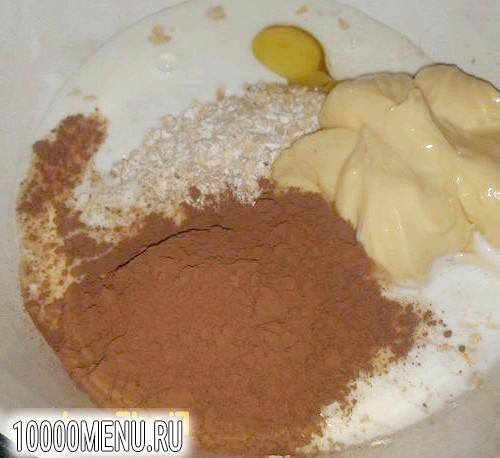 Фото - Вівсяне печиво з какао - фото 1 кроку